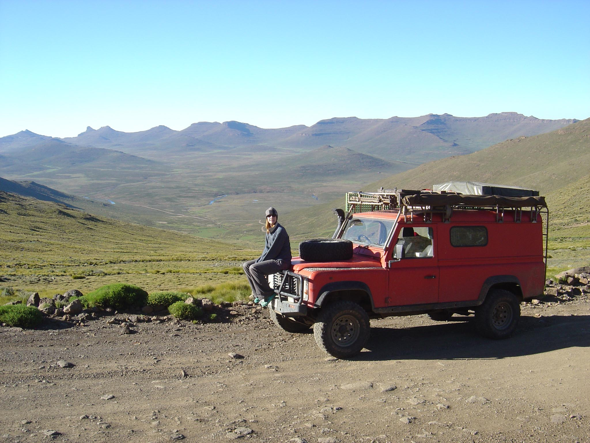 Land Rover in Lesotho