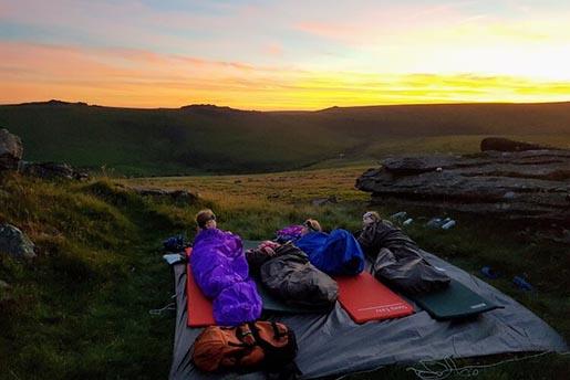 Wild camping Dartmoor