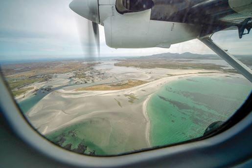 Outer Hebrides plane